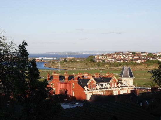 Aberthaw House Hotel: View from room 2