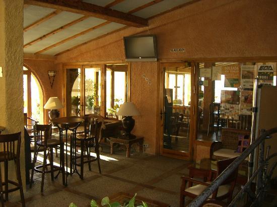La Iruela, Hiszpania: Bar del Hotel
