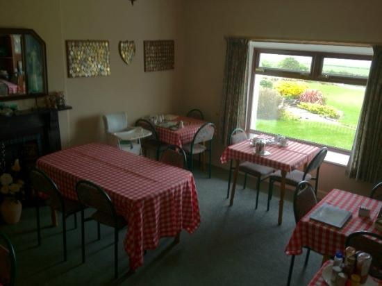 Ballymacoda, Irlanda: Breakfast room