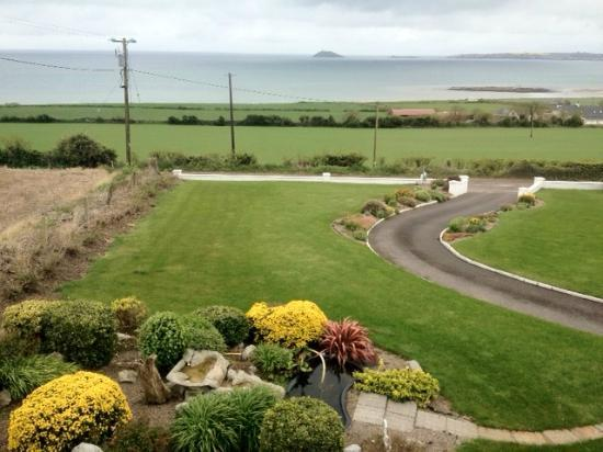 Ballymacoda, Irlandia: View from room 1