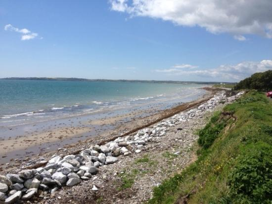 Ballymacoda, Irlanda: Beach just down the road
