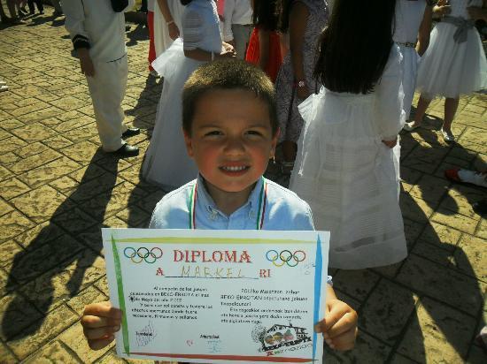 Beko-Errota: mi niño con un diploma
