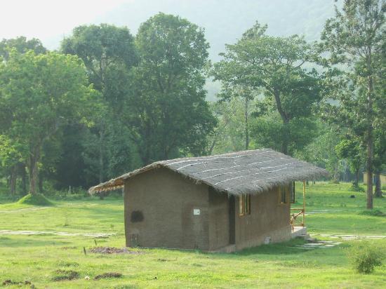 Mud hut- but very modern