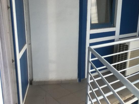 Hotel Continental: balcony