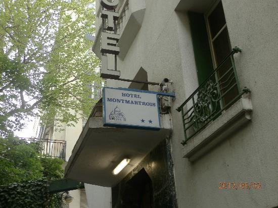 Hotel Montmartrois: l'ingresso