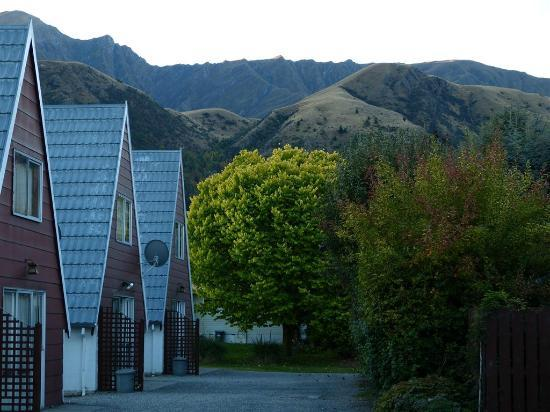 Arrowtown Viking Lodge Motel : Great backdrop