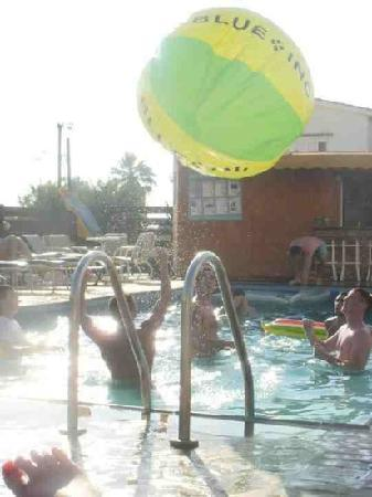 Salmary Apartments: chillin at pool ;)