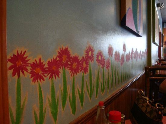 Sweet Potatoes Kitchen: Inside Wall Painting