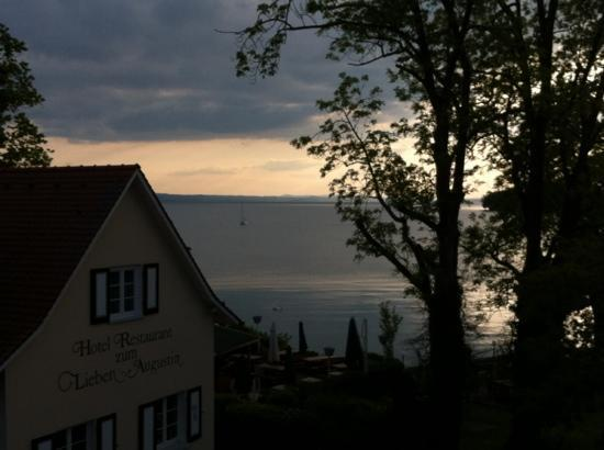 Hotel zum lieben Augustin am See: view from the suite