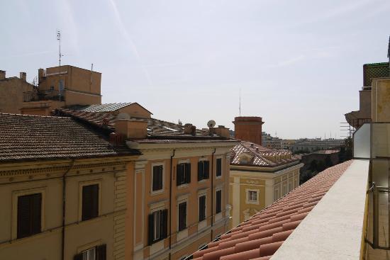 Windrose Hotel: Ausblick vom Balkon nach rechts