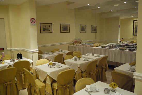Windrose Hotel: Kleiner Frühstücksraum