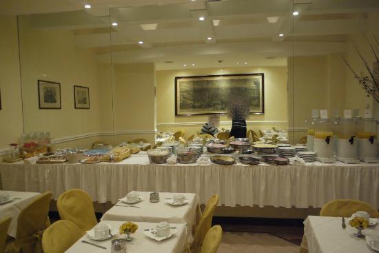 Windrose Hotel: Kleines Frühstücksbuffet