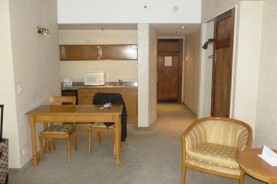 America Plaza Hotel: Habitaciones cómodas