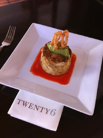 Twenty 6: Siginature dish- Jumbo Lump Crab Cake