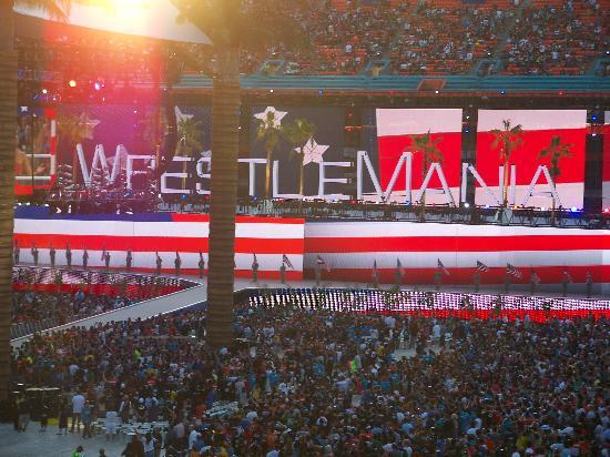 Sun Life Stadium: W28 - American Anthem