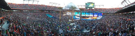 Sun Life Stadium: W28 - Inside the SunLIfe Stadium