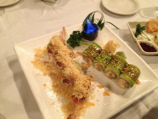 Ai Sushi & Grill: Denver Nuggets Roll, Flaming Lobster Roll