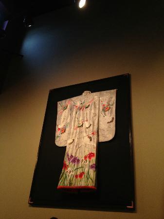 Ai Sushi & Grill: Kimono hanging on wall