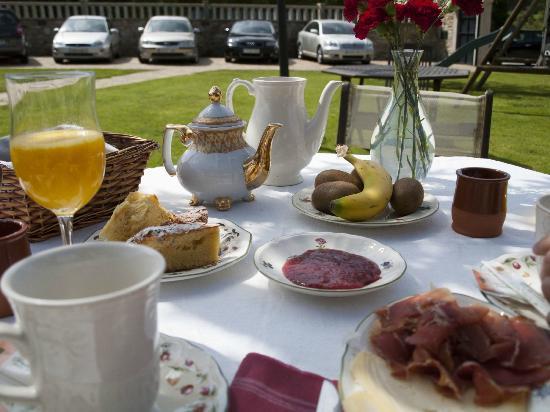 Casa de Lema: Desayuno