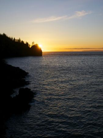 The Lighthouse on Cape d'Or: Sunrise over the Bay of Fundy