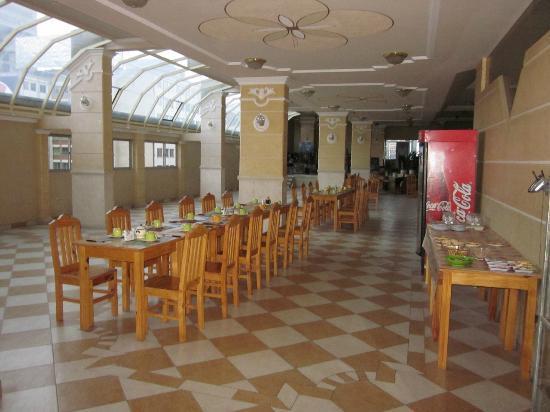 Eva Palace Hotel: The breakfast room