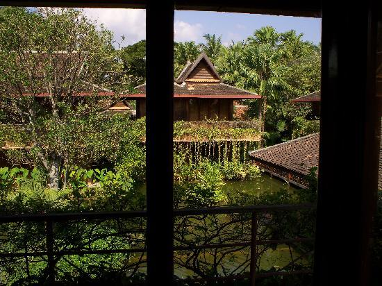 Angkor Village Hotel: View from our room