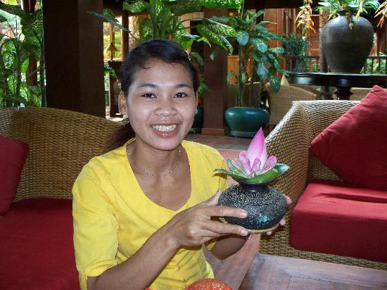 Angkor Village Hotel: lovely staff