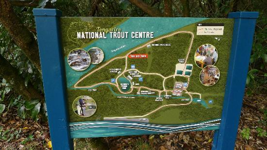 Tongariro National Trout Centre  - map
