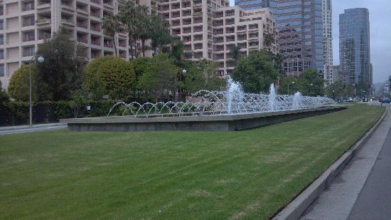 Beautiful Century City in Los Angeles. Once part of the Fox Studios on