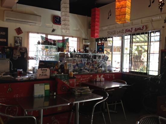 Tony's Guesthouse: la boutique du rez de chaussée.