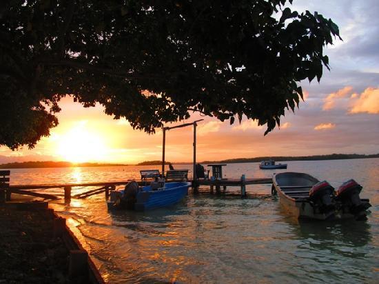 Zipolo Habu Resort: Yet another brilliant sunset