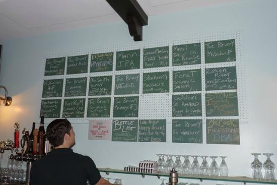 The Pacific Inn: Beachwood BBQ has incredible craft brew selection.  Credit Barbara L. Steinberg