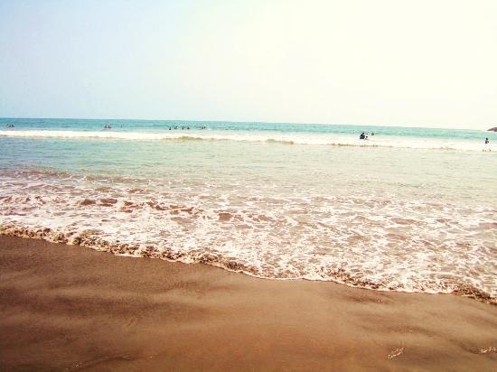 Playa El Borrego : al pie de la playa