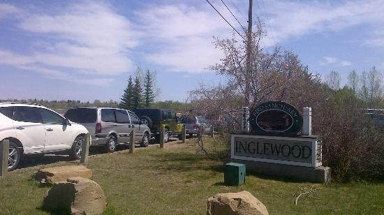 Inglewood Bird Sanctuary and Nature Centre : Entrance
