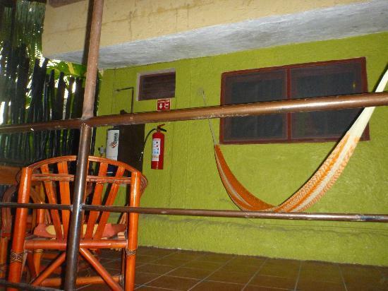 Hotel Playa del Karma : porch