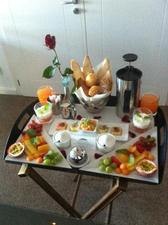 Atlanticview Cape Town Boutique Hotel: Work-of-Art Breakfast...