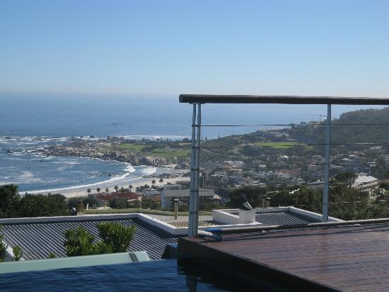 Atlanticview Cape Town Boutique Hotel: View from infinity pool ...