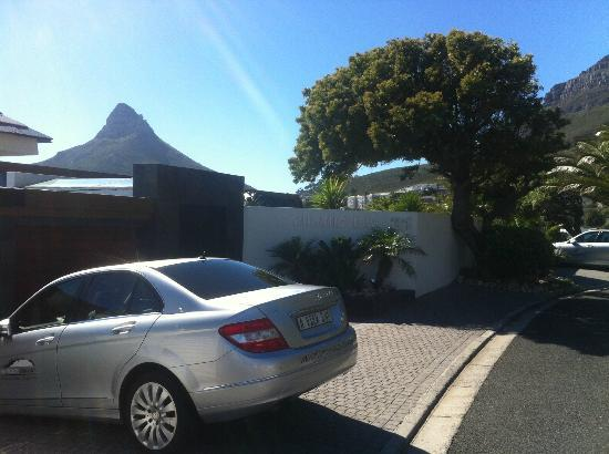 Atlanticview Cape Town Boutique Hotel : The entry...