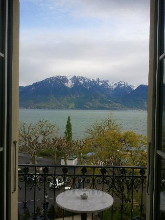 Grand Hotel du Lac: A view from the room