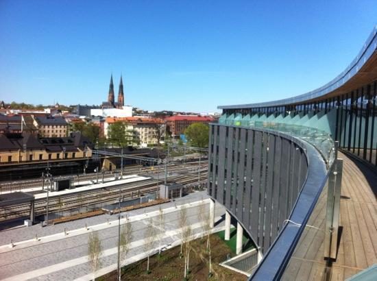 Radisson Blu Hotel Uppsala: utsikt från översta våningen