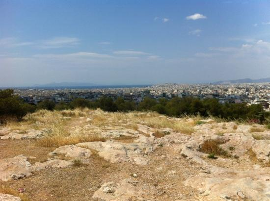 Areopagus: view from the hill top