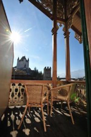 Hotel Emmental: sicht auf schloss