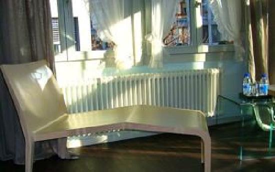 Hotel Emmental: designermöbel in zimmer