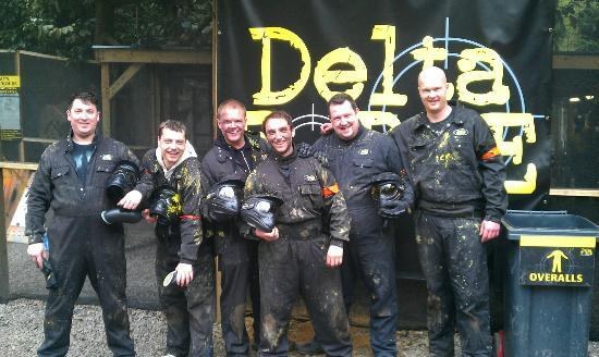 Delta Force Paintball Maidenhead: Dave's 30th Paintball Bash