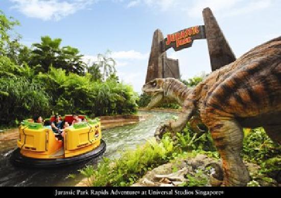 Vip Pass Logo Jurassic Park Rapids A...