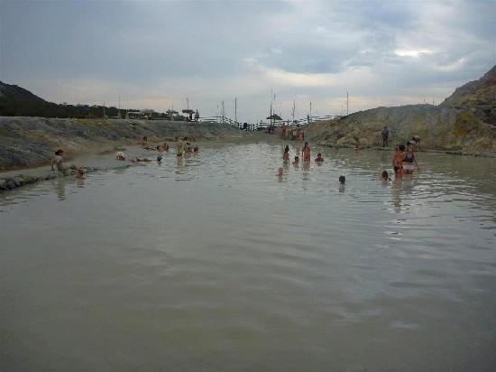 Terme di Vulcano: pozza dei fanghi