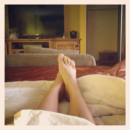 Inn at Avila Beach: from bed..