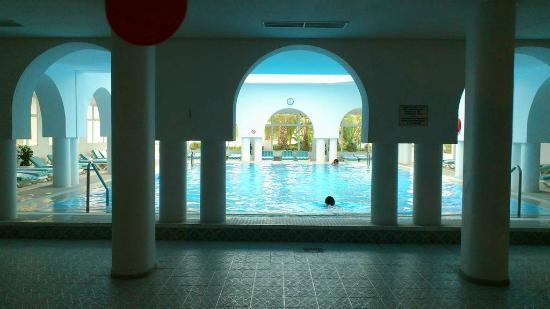 Aziza Residence Thalasso Golf: Piscine intérieure chauffée