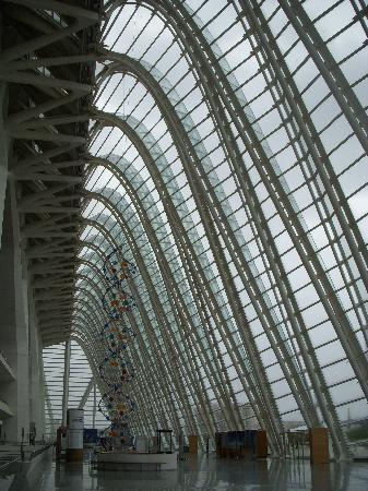 City of the Arts and Sciences: in side of the sience center