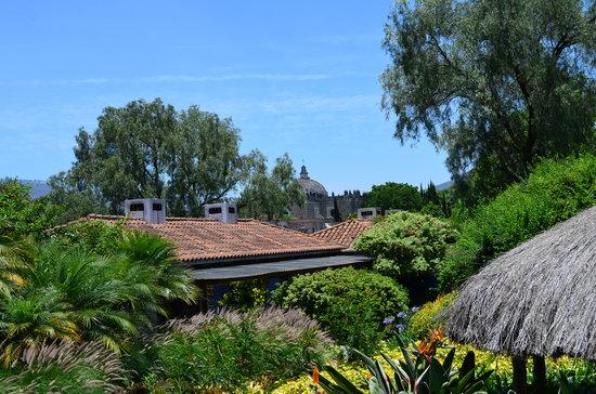 Quinta de las Flores: View from the garden of the hotel.